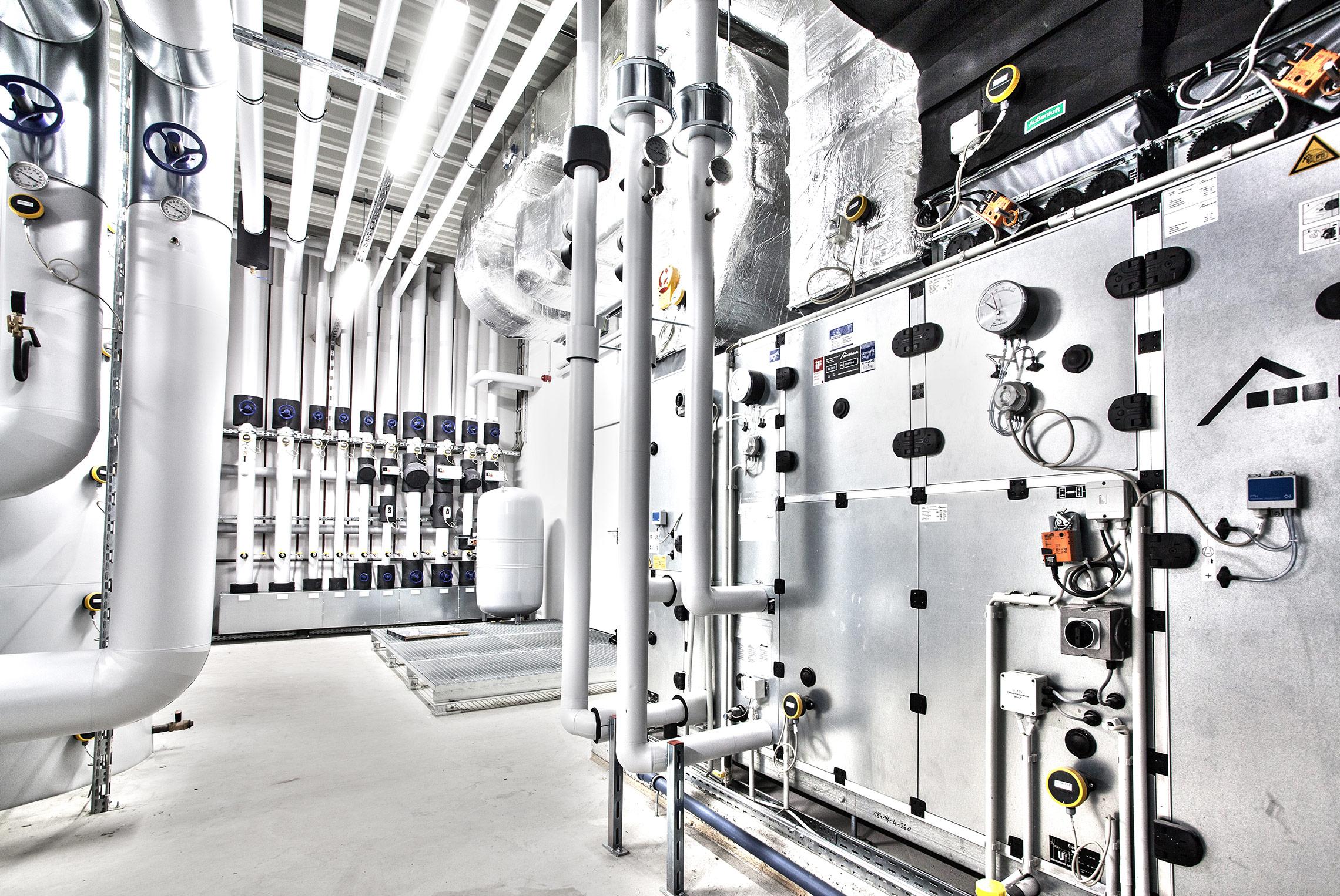 Technische Gebäudeausrüstung (TGA)