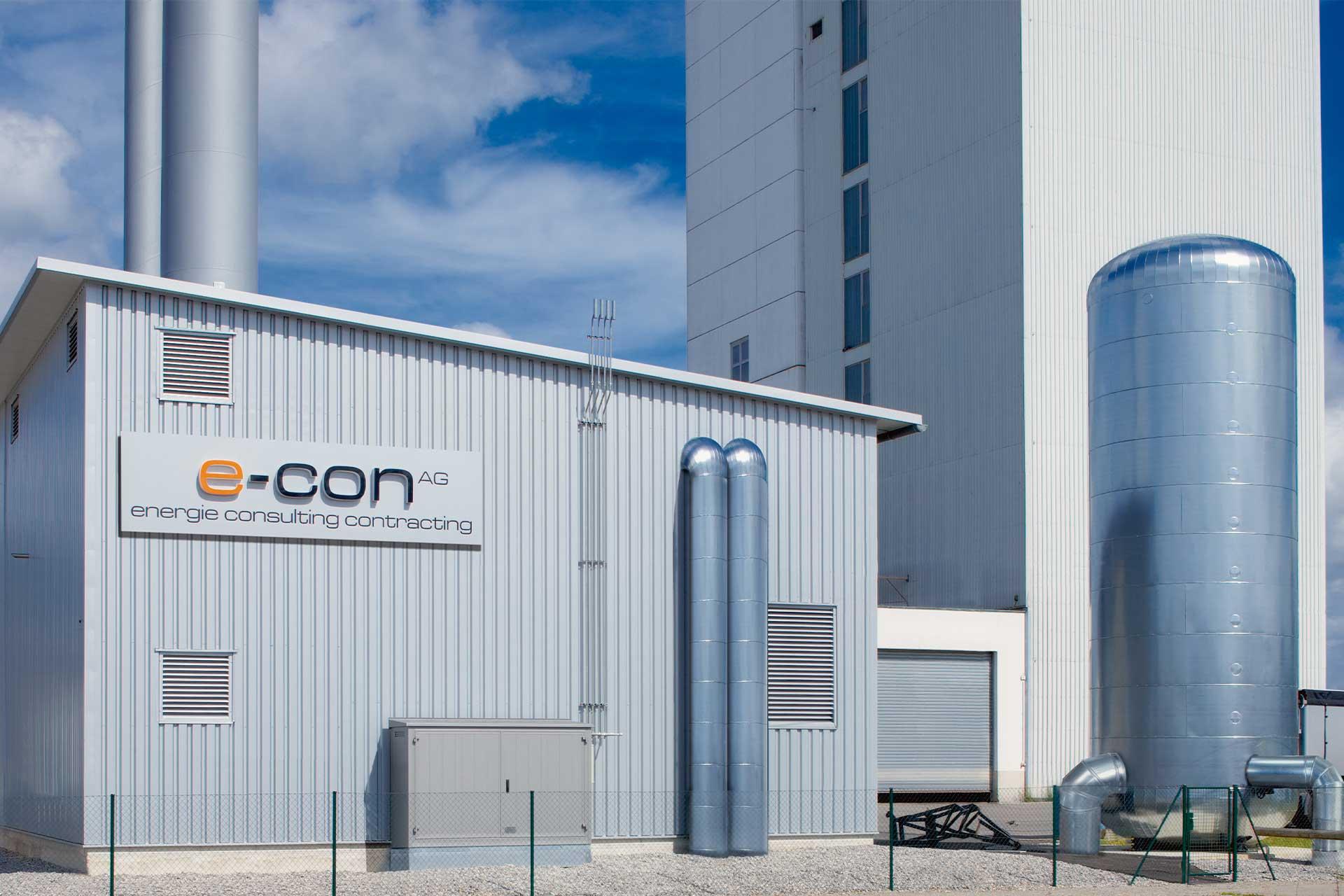 Biomasse Heizwerk in Memmingen