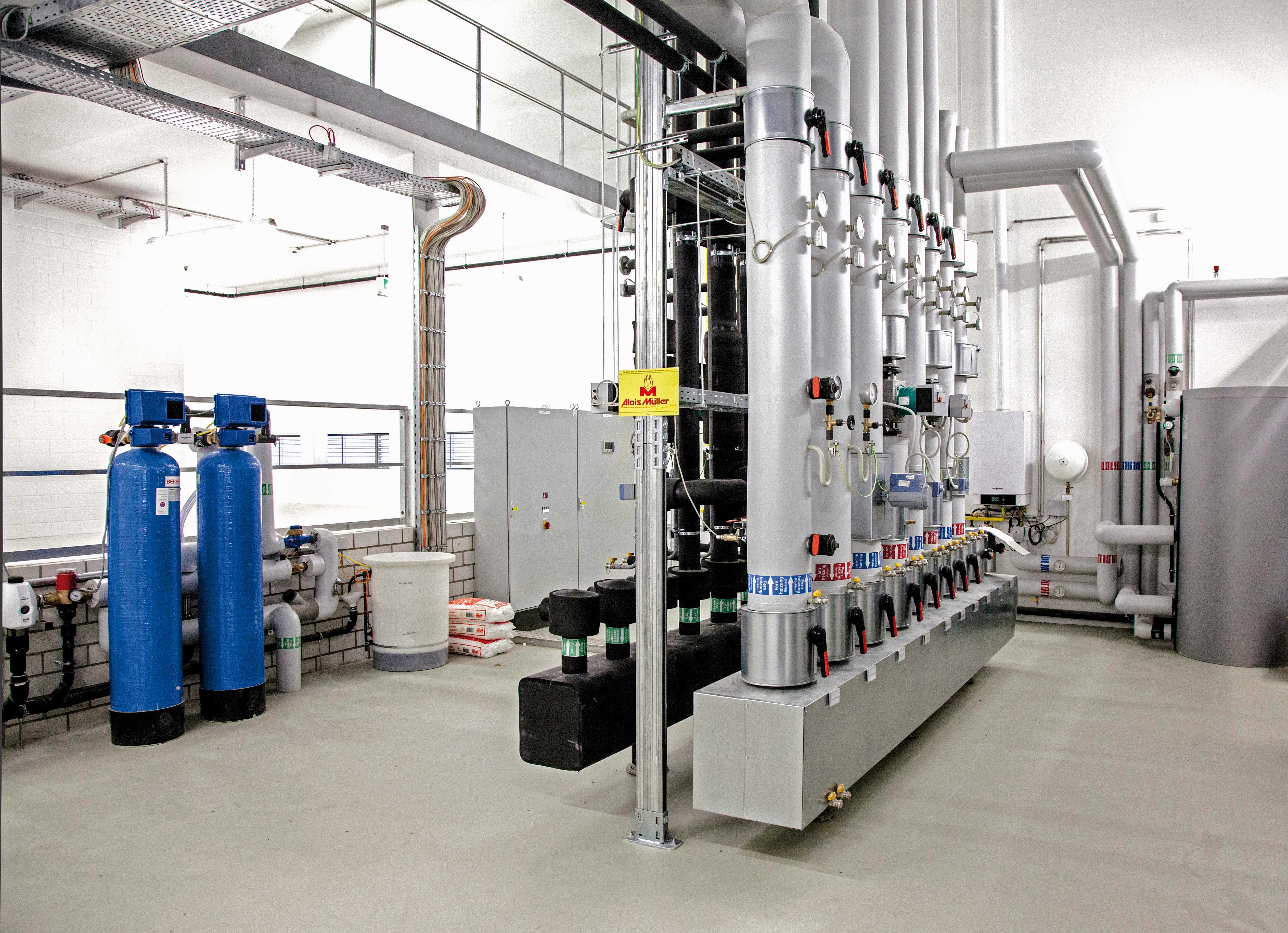 Liebherr-International Deutschland GmbH | Oberopfingen ENERGIEZENTRALE