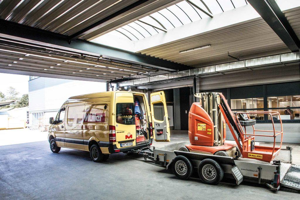 Logistik und Ersatzteillogistik