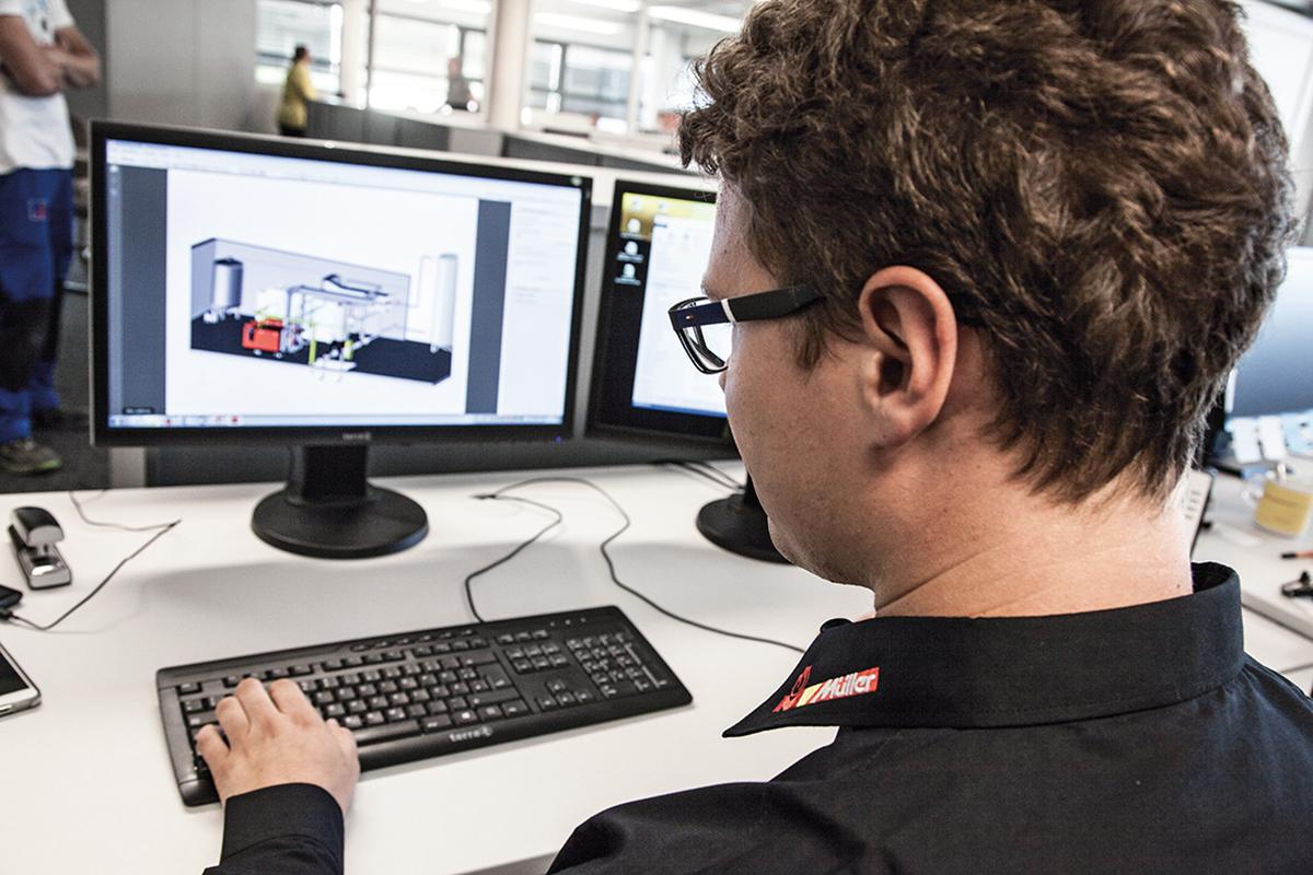 CAD Planung Anlagenbau