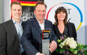 SHK Award 2015 für AndreasMüller