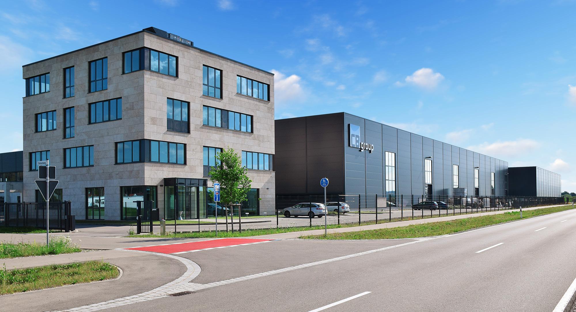Außenansicht der CB-tec GmbH Firmenzentrale