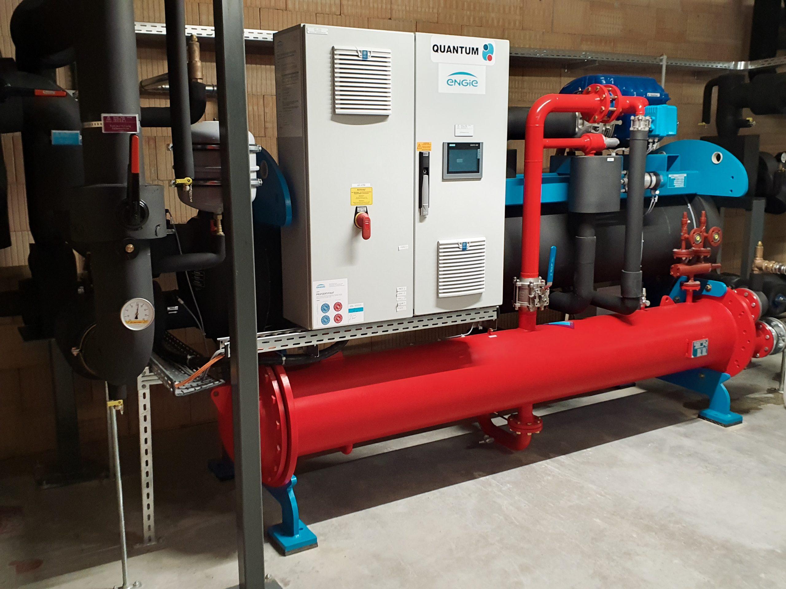 Kälte- und Wärmetechnik für die neue Verzinkerei im PERI Werk Günzburg