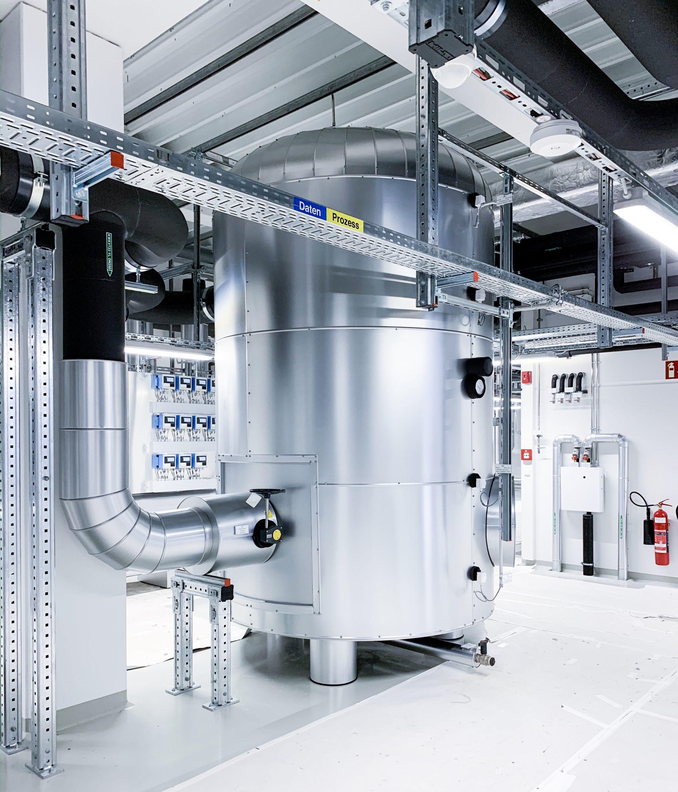 Pufferspeicher Kältezentrale Vetter Pharma GmbH | Standort Mariatal