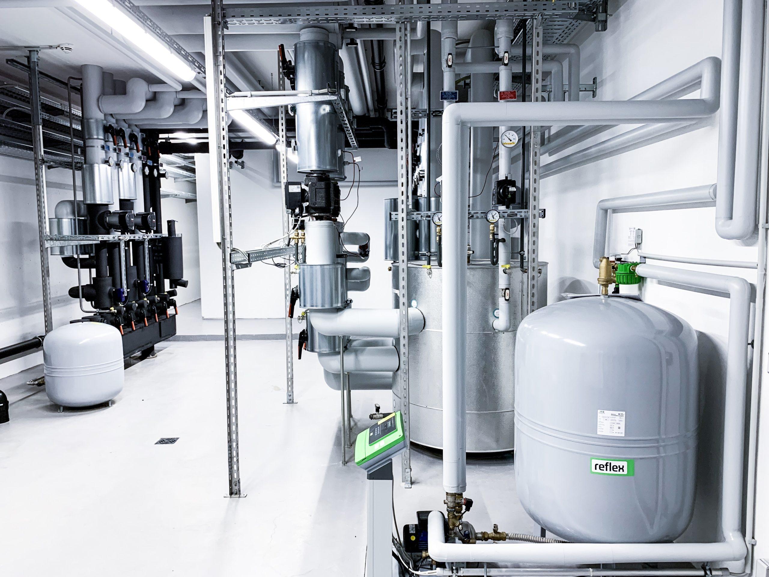 Gebäudetechnik der Multivac Sepp Haggenmüller SE & Co. KG