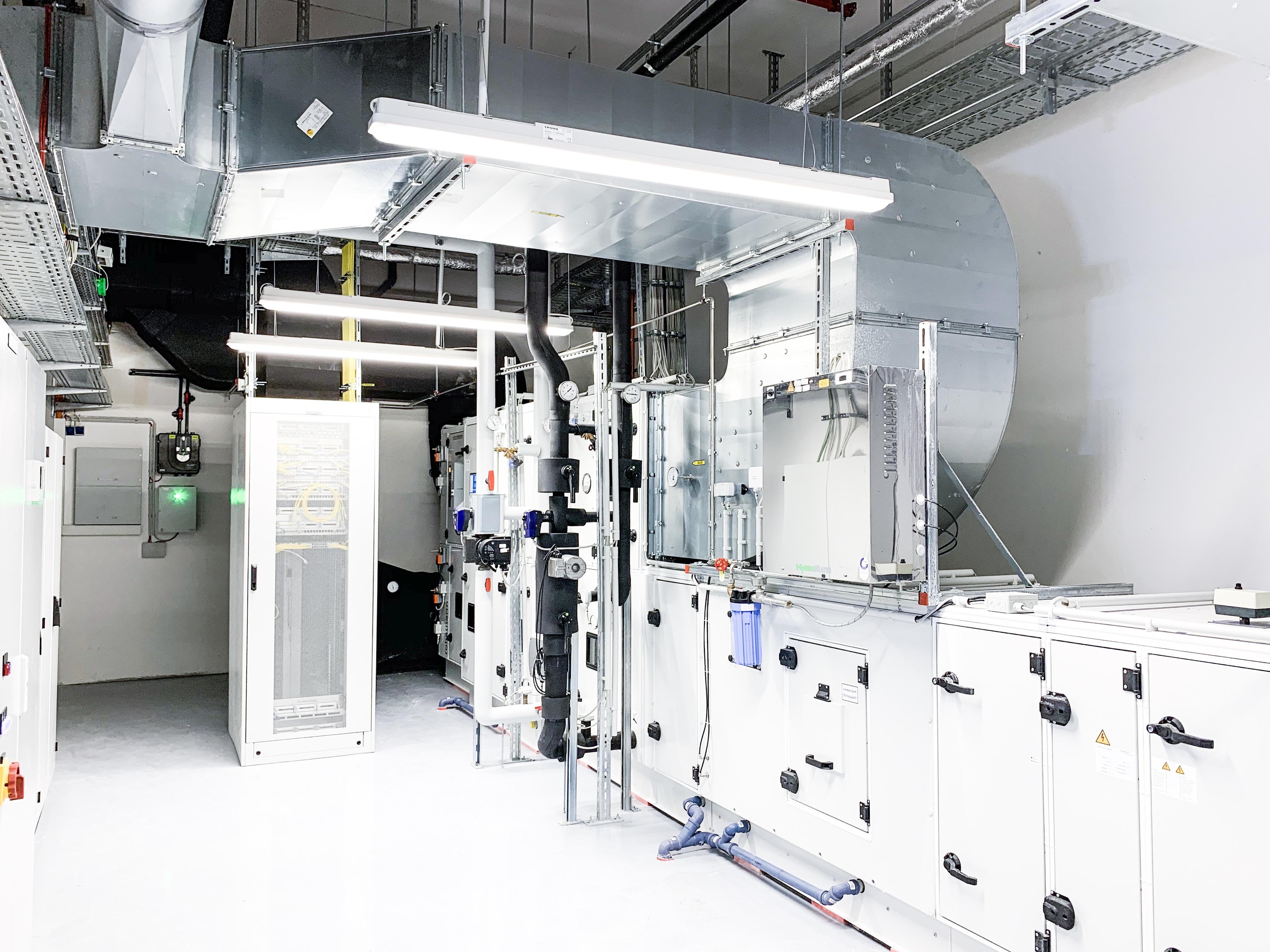 Lüftungsanlage der Multivac Sepp Haggenmüller SE & Co. KG