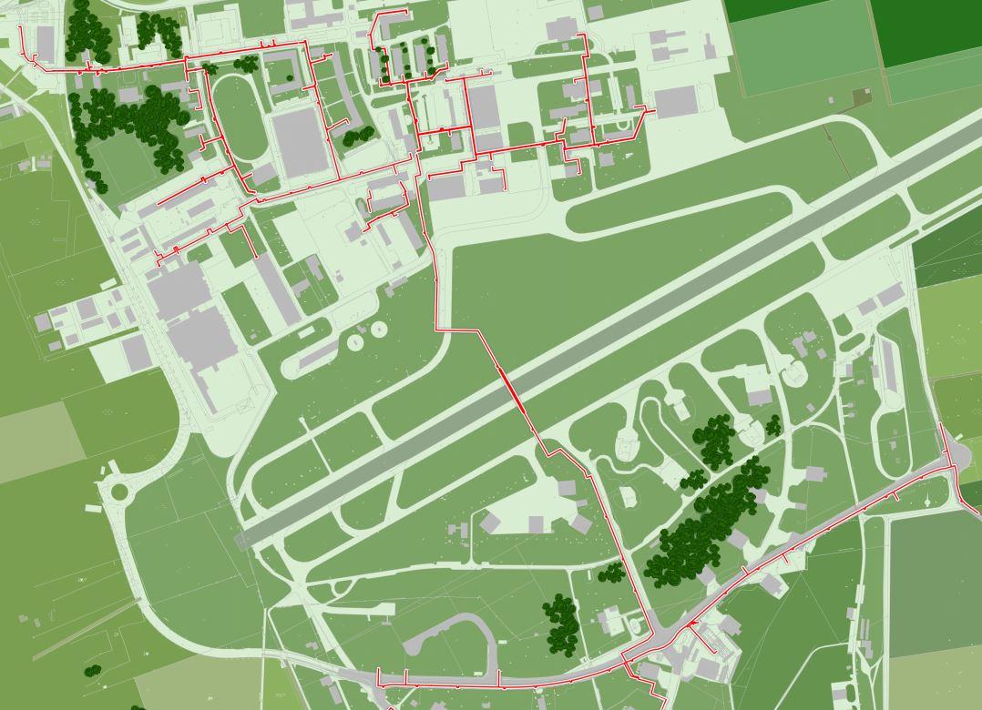 Gesamtplan Fernwärme Allgäu Airport