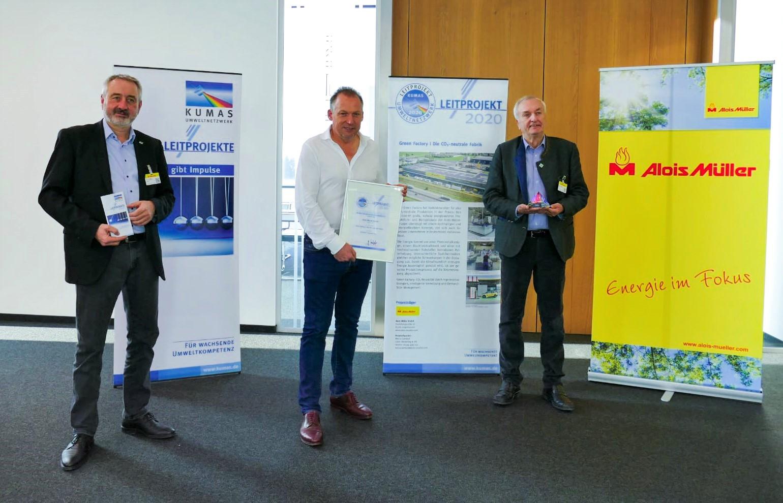 "Award ""KUMAS Leitprojekt 2020"""