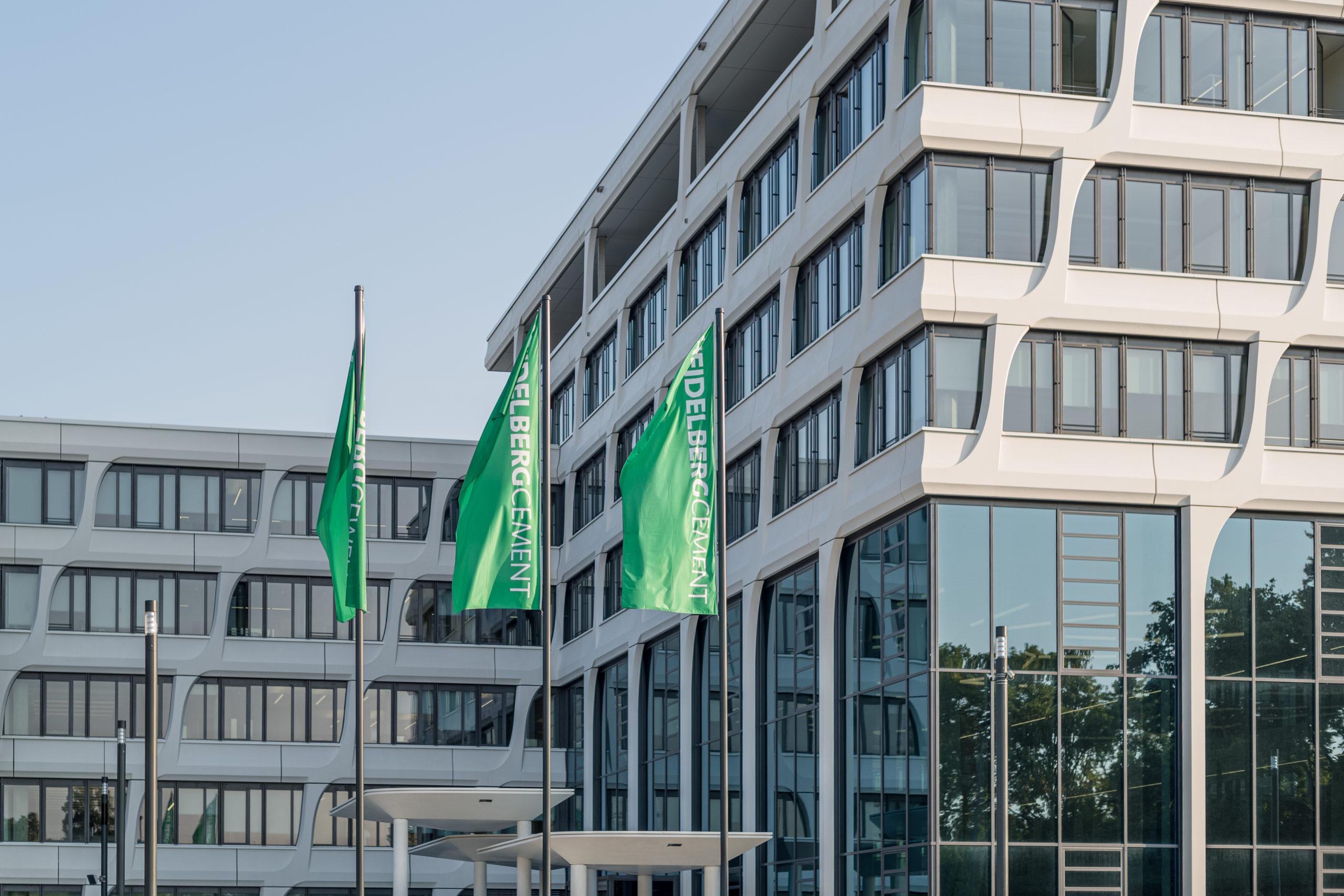 HeidelbergCement Headquarter Außenansicht