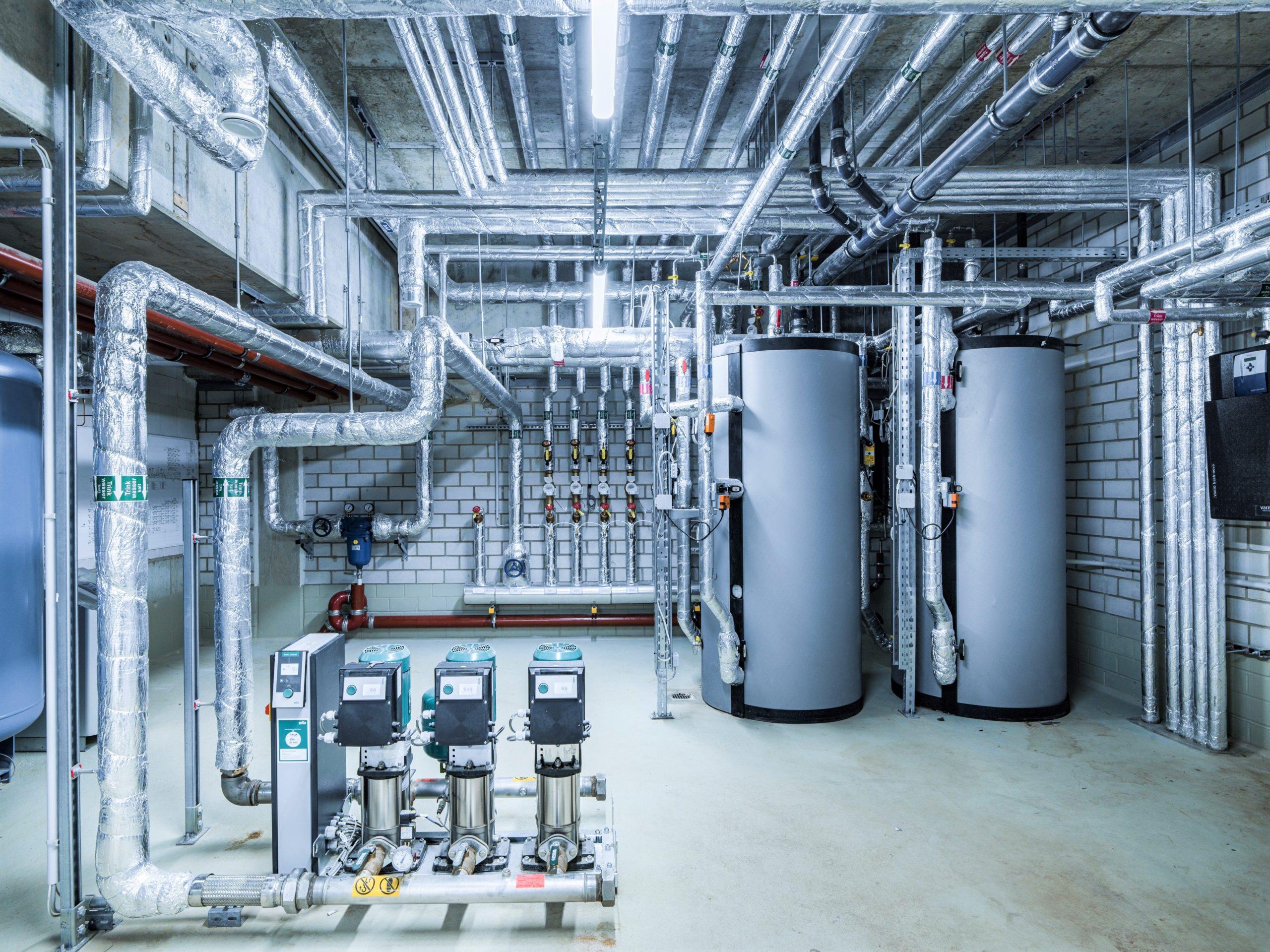 Trinkwasseranlage und Gebäudetechnik im neuen Headquarter der HeidelbergCement AG
