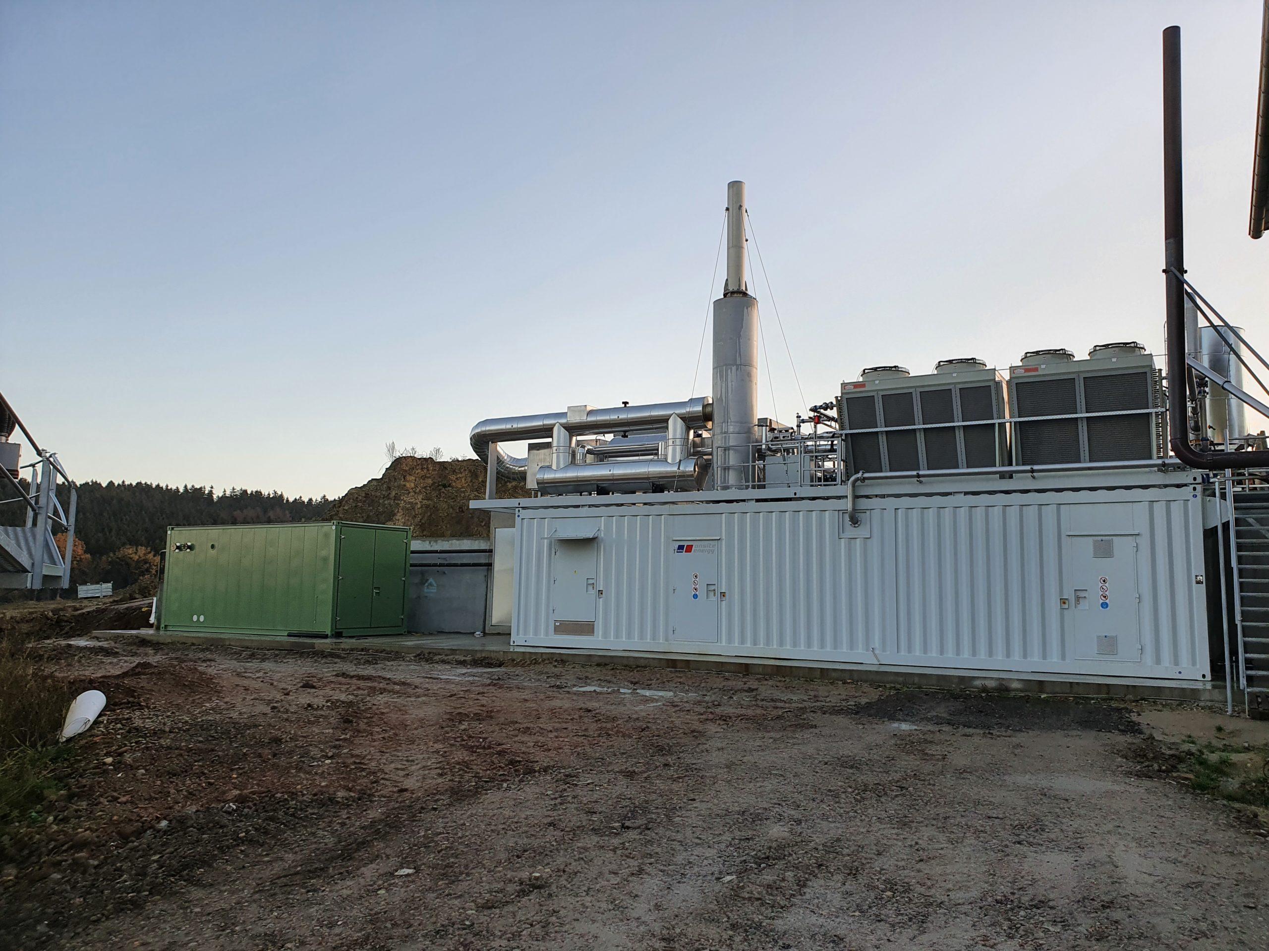 Energiezentrale Energiehof Thanner GmbH & Co. KG