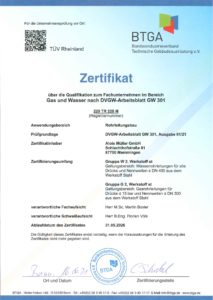 2_Gas und Wasser nach DVGW-Arbeitsblatt GW 301